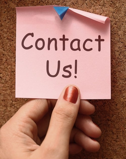 Contact Us Message Shows Email Or Phone Call