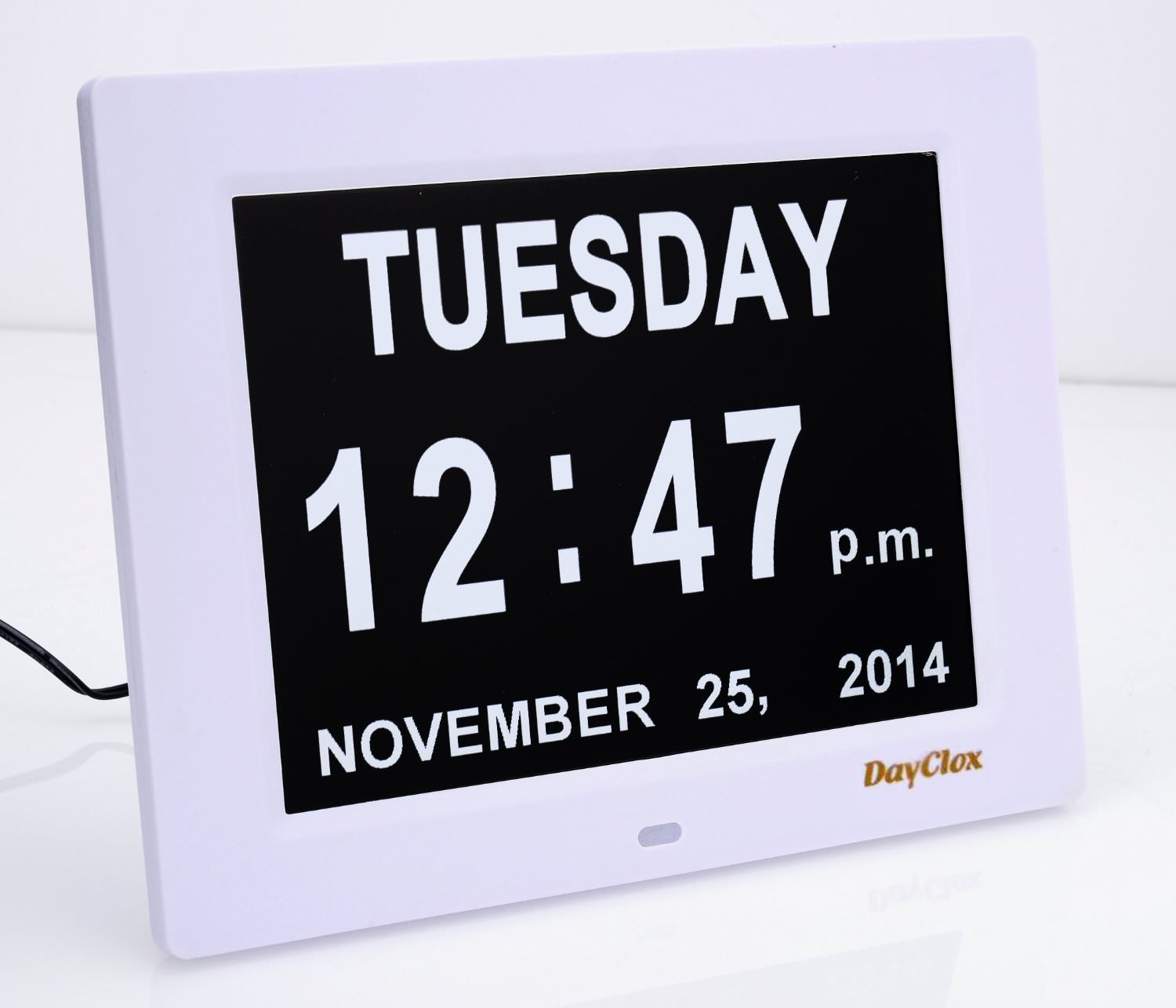 easy wall clock with Digital Calendar Day Clock on Castle 820095 likewise Haunted House Wallpaper further Dandelion Black White besides Favorite Diy Costumes Of 2014 additionally Happy Sleep Bedroom Wall Quote Sticker Wa260x 6586 P.